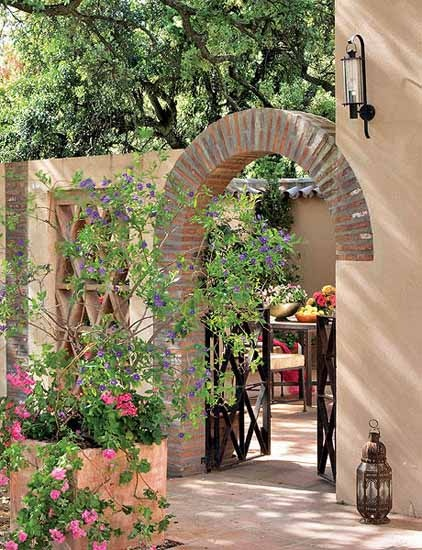 Beautiful and calming entrance