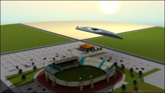 BBC Mundo - Video y Fotos - Nube artificial sobre los estadios de la Copa Mundial de 2022