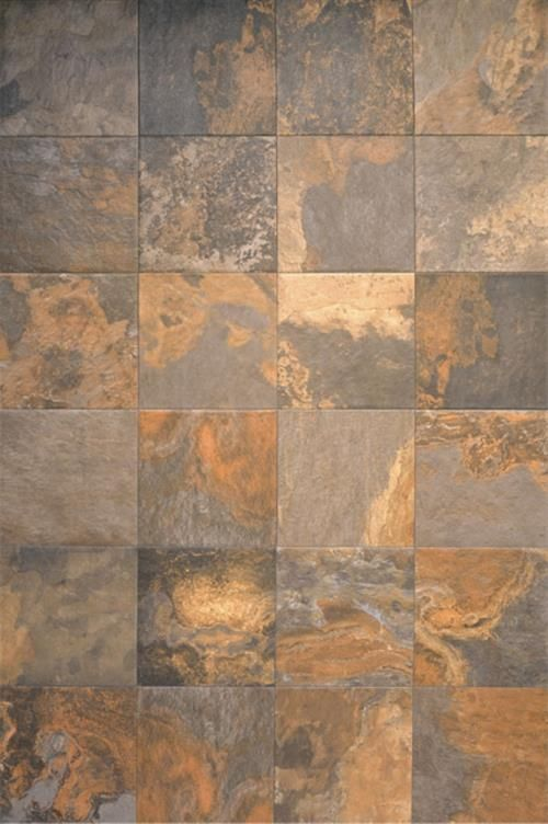 Interceramic Slate Supremo Multicolor 16x24 16x16