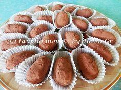 Σοκολατάκια με Ινδοκάρυδο και Αμυγδαλόσκονη - Almonds and Coconut Treats