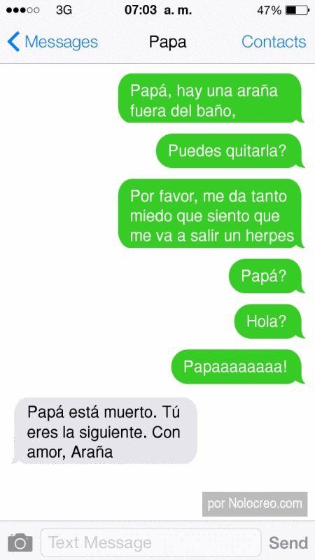 """Puso un SMS a su hija diciéndole: """"LOL tu tía acaba de fallecer"""". ¡Y ella le dijo esto!"""