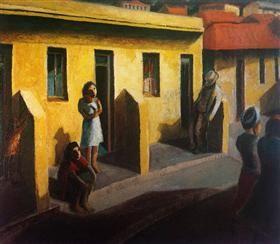 Yellow Houses: District Six - Gerard Sekoto