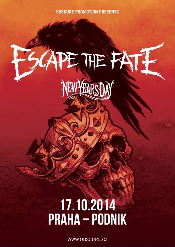 Escape The Fate, New Year's Day a Abyss, Watching Me