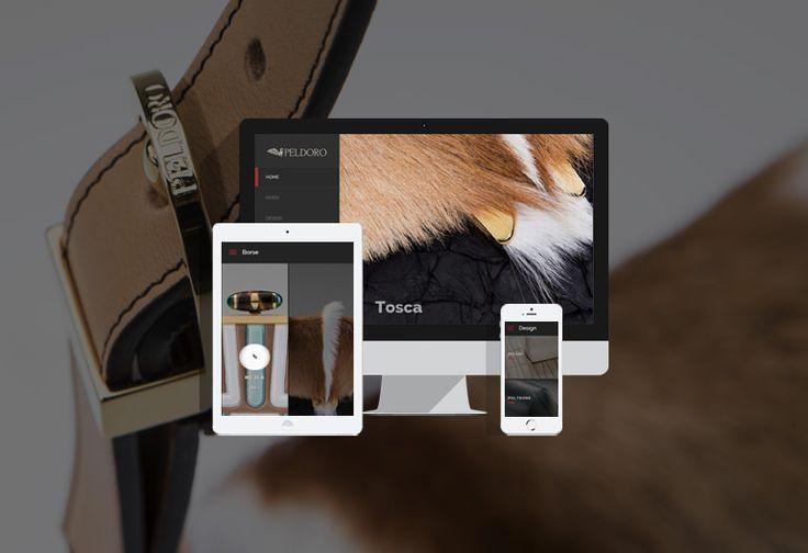 Sito Wordpress di presentazione di prodotti made in Italy unici ed esclusivi  Realizzato in Wordpress il sito dell'azienda Peldoro, che si presenta sulla scena internazionale del lusso con prodotti made in Italy unici ed esclusivi. #webdesign