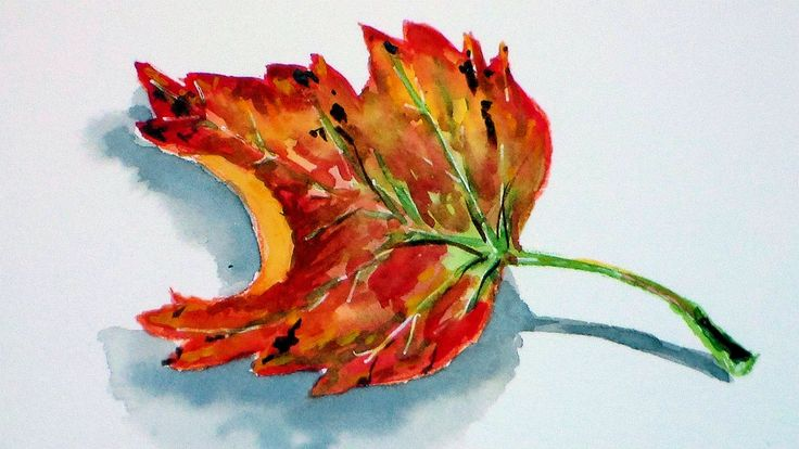 leaf painting techniques - photo #15