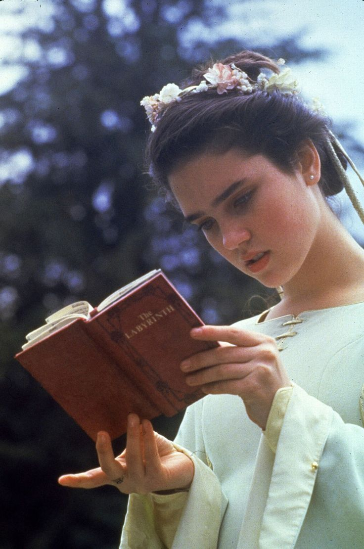 Jennifer Connelly in Labyrinth. One of my favorite movies growing up.