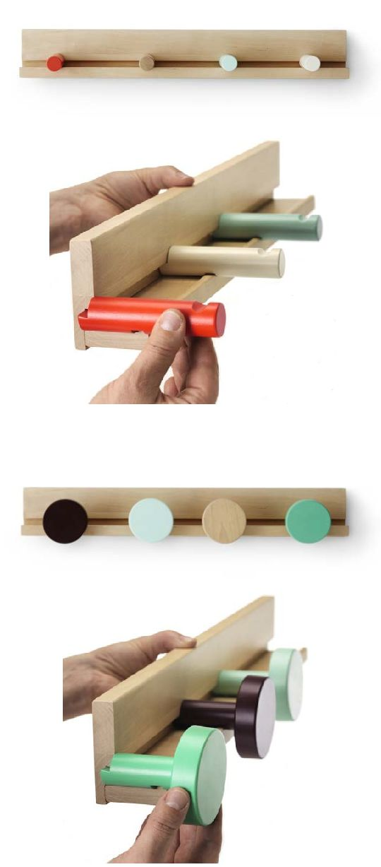 IKEA PS 2014 wall rail // With the wall rail and the other accessories in the series, you can create different combinations! #product_design #furniture_design