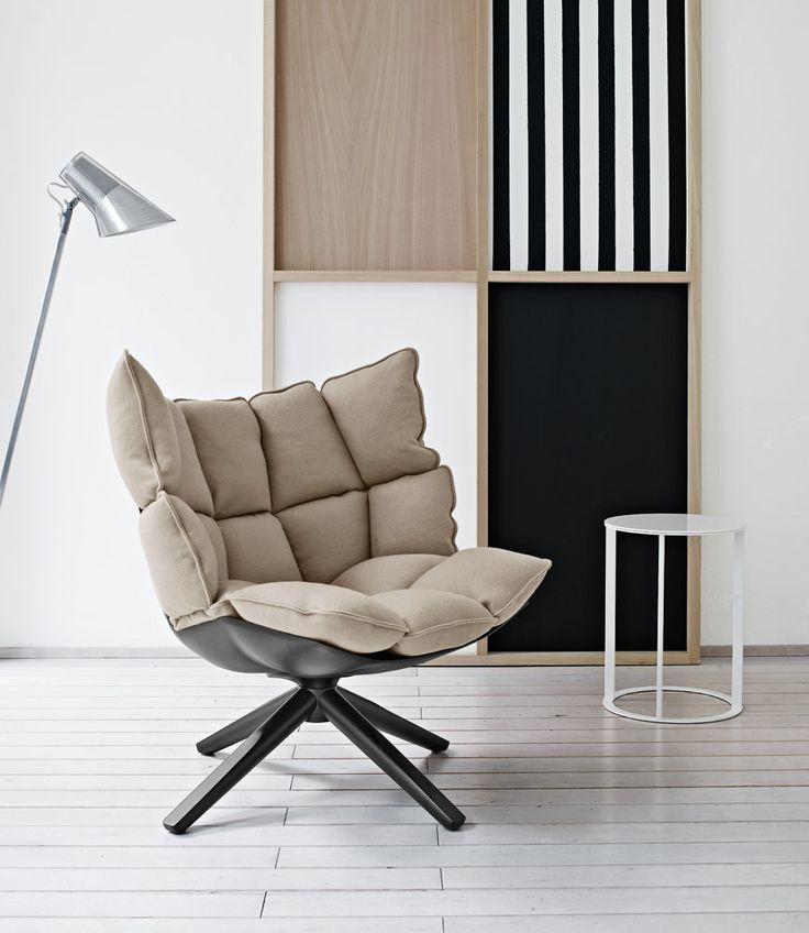 B Italia - Husk armchair by Patricia Urquiola, also available for outdoor use!
