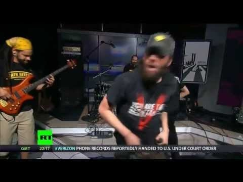 RT – Breaking The Set With Abby Martin   Rebel Inc. Breaks The Stage – Musical Performance