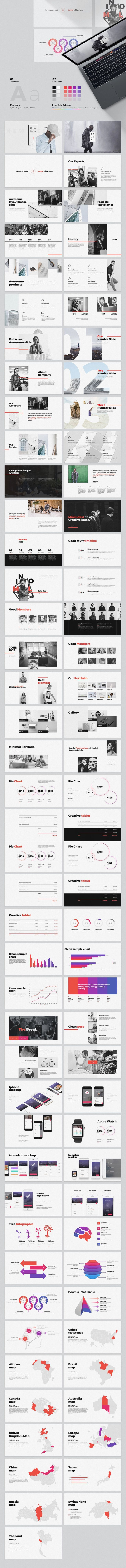 Every - Minimal PowerPoint Template