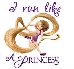 I run like a princess :)