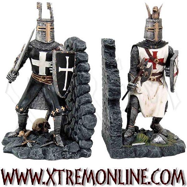 Decoracion Gotica Tienda ~ Caballero Medieval, Heavy Metal, Bookends Zar??ky, Libros Caballeros