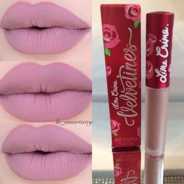 - #limecrime Velvetine in Cashmere ❤️i need this lip gloss now!!!!!!