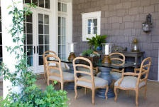 outdoor dining perfection
