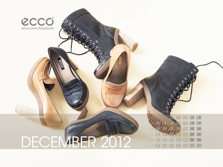 ECCO Wallpaper December 2012, Visit http://facebook.com/ecco