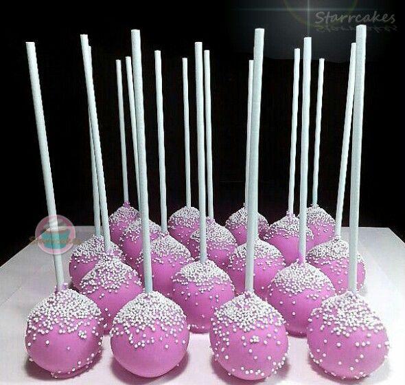 Cake pops by www.starrcakes.com