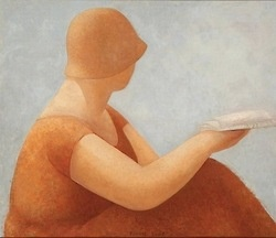 Women readers, readings (ilustración de Erni Kwast)Girls Reading, Women Reader, Reading Painting, Women Reading, Leen Ii, Reading Book, Ernie Kwast, Contemporary Art, Woman Reading