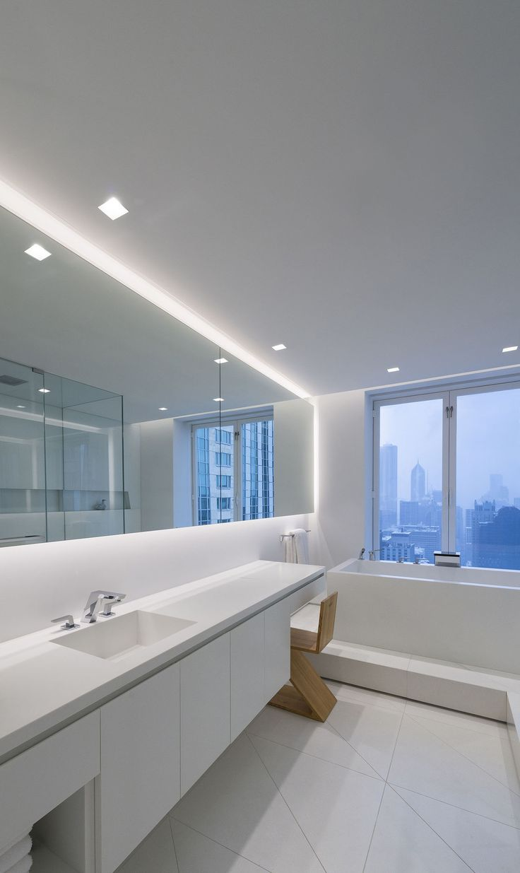 14 best pureedge lighting bathroom images on pinterest outdoor a lighting idea for contempporary bathrooms modern led lighting for the bathroom aurora square aloadofball Images