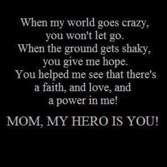 My mom is my hero essay