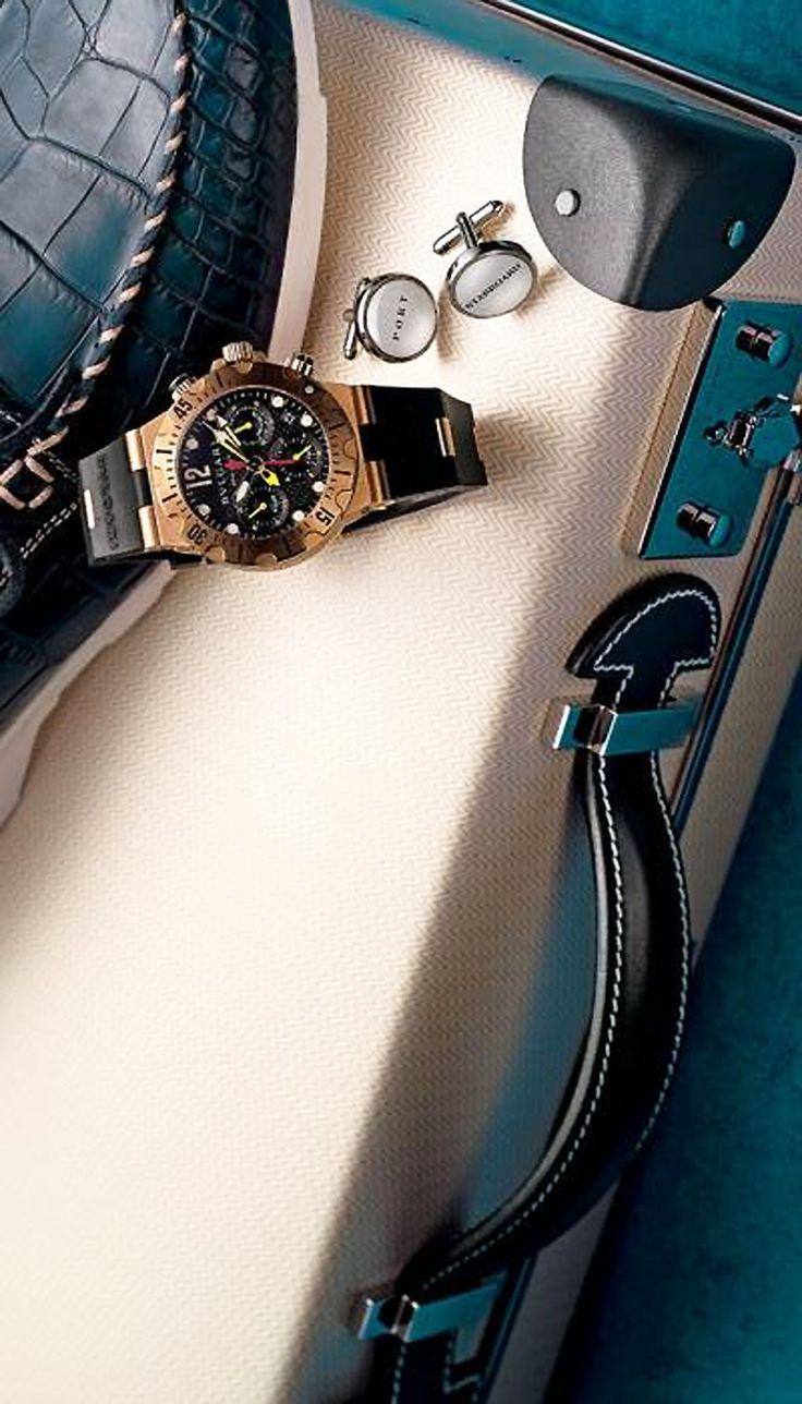 anbenna • Hermès vulcan fiber and cowskin Faubourg Express