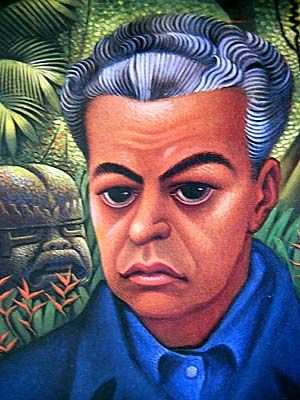 Self Portrait by Miguel Covarrubias (Mexico, 1904–1957), a painter and caricaturist, ethnologist and art historian