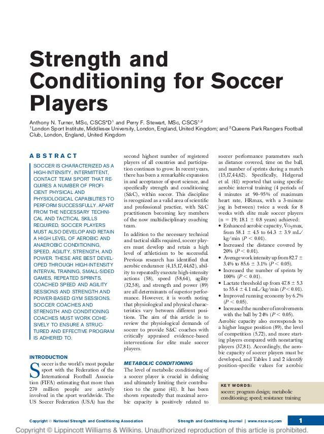 soccer training program sample - http://sportsoccers.com ...