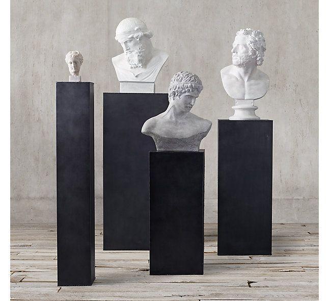 Metal Plinth Collection