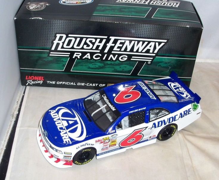 1:24 ACTION 2014 #6 ADVOCARE ROUSH FENWAY FORD MUSTANG TREVOR BAYNE 1/792 #Action #Ford