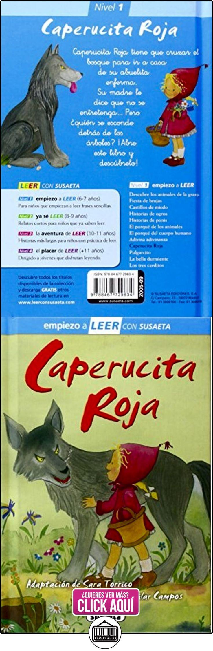 Caperucita Roja (Leer con Susaeta - nivel 1) Charles Perrault ✿ Libros infantiles y juveniles - (De 6 a 9 años) ✿ ▬► Ver oferta: https://comprar.io/goto/8467729635