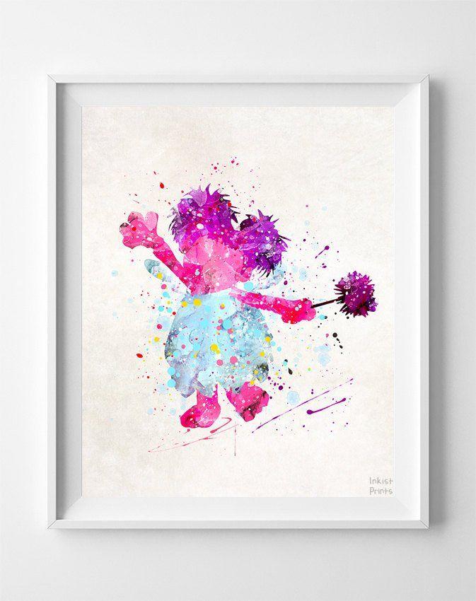 Abby, Sesame Street Print