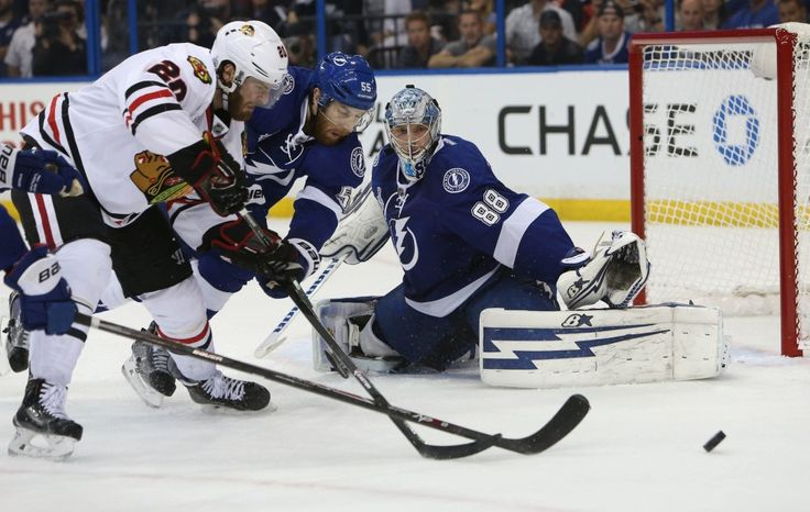 Hockey News: Lightning and Andrei Vasilevskiy Win Game 2, Tie Series - http://thehockeywriters.com/hockey-news-lightning-and-andrei-vasilevskiy-win-game-2-tie-series/