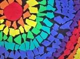 Artsonia Art Exhibit :: RAINBOW MOSAIC- Stein