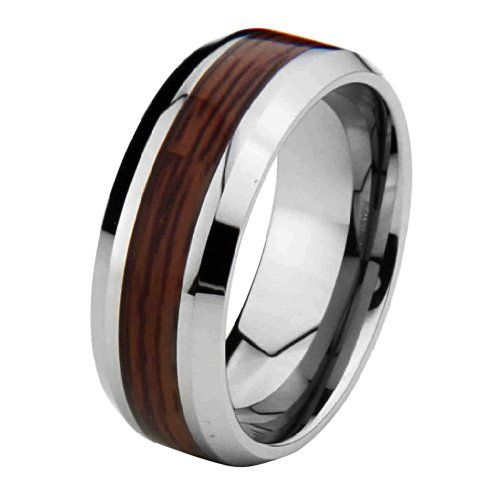 274 best images about Tungsten Rings for Men on Pinterest | Black ...