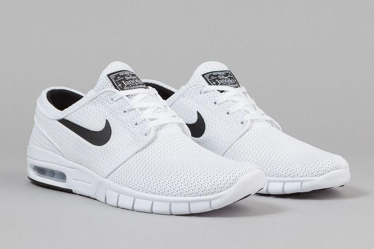 """Nike SB Stefan Janoski Max """"White/Black"""""""