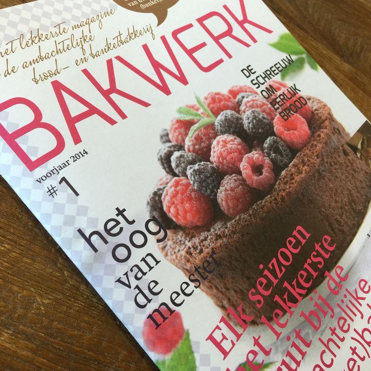 BAKWERK. Als intern én extern communicatiemiddel van de Stichting Ambachtelijke Bakkerij is het magazine Bakwerk ontstaan. Wij mochten het ontwerp, de opmaak en het drukwerk verzorgen. Heerlijk zo'n productie!