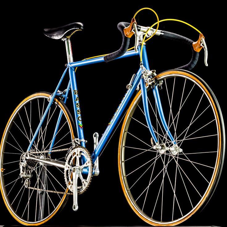 Basso road bike vintage campagnolo cinelli