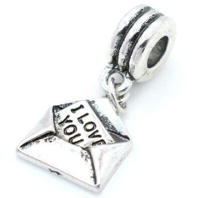 i love you letter dangle pandora charm