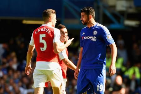 Diego Costa, Gabriel Paulista Charged by FA Following Chelsea vs. Arsenal...