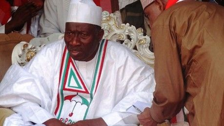 The peace meeting convened by former President Goodluck Jonathan to end the crisis in the Peoples Democratic Party ended in disarray in Abuja