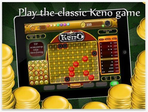 Keno - Best Free Casino Betting Game HD by Dumadu.  The game of lottery or luck returns in a new form. Keno is the best betting game that can keep you entertained all the while. Visit www.dumadu.com to download more mobile games.  #iphonegames #games #downloadfree #casinogames