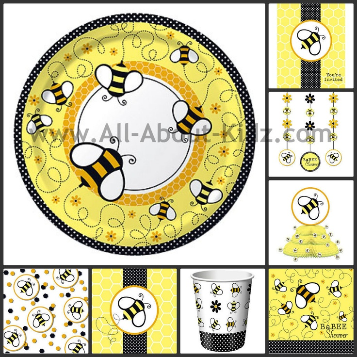 Buzz BaBEE Baby Shower Bee Birthday PARTY SUPPLIES