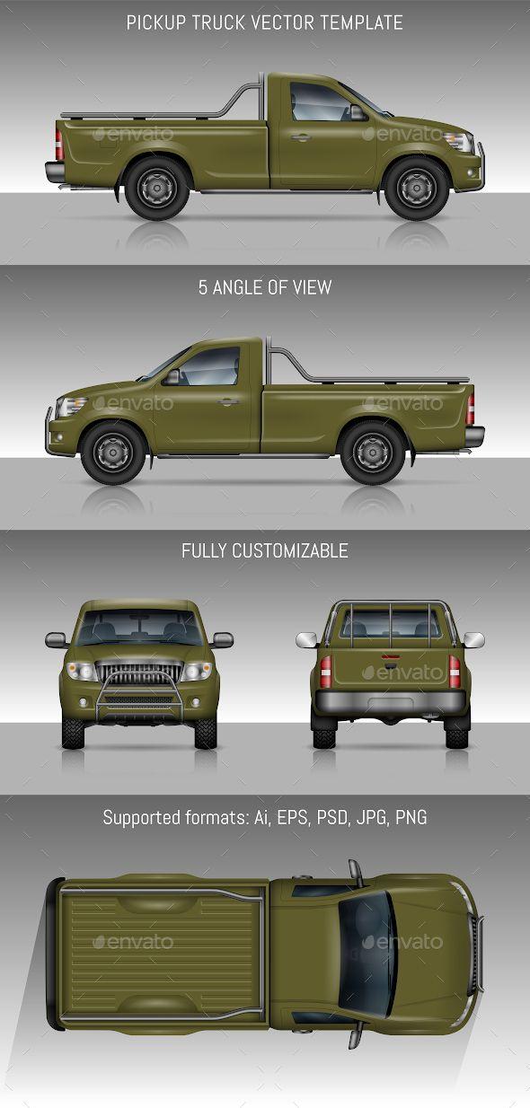 Green Pickup Truck Pickup Trucks Trucks Green