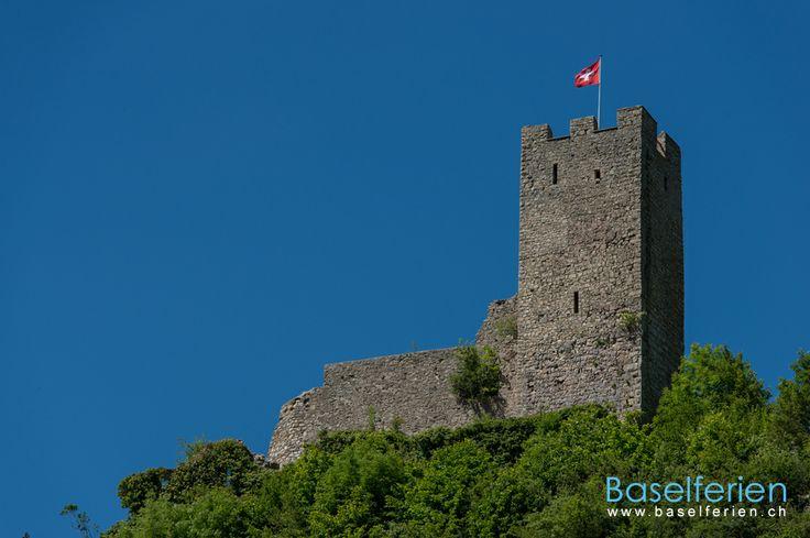 Schloss #Ruine Waldenburg, #Baselland, #Schweiz.