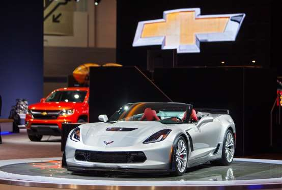 Chevrolet Corvette (2015) - Photo Darren Brode / Shutterstock.com