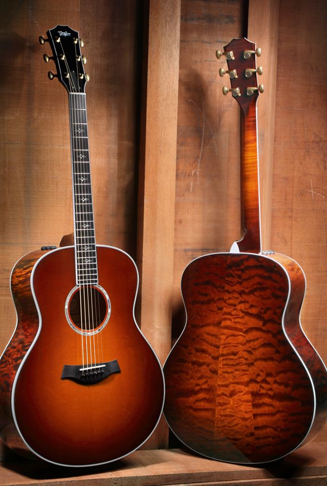 taylor cool acoustic guitars pinterest. Black Bedroom Furniture Sets. Home Design Ideas