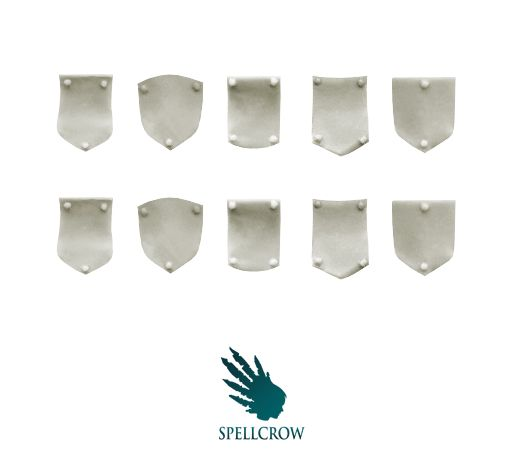 Space Knights - Space Knights Small Shoulder Shields - SPELLCROW