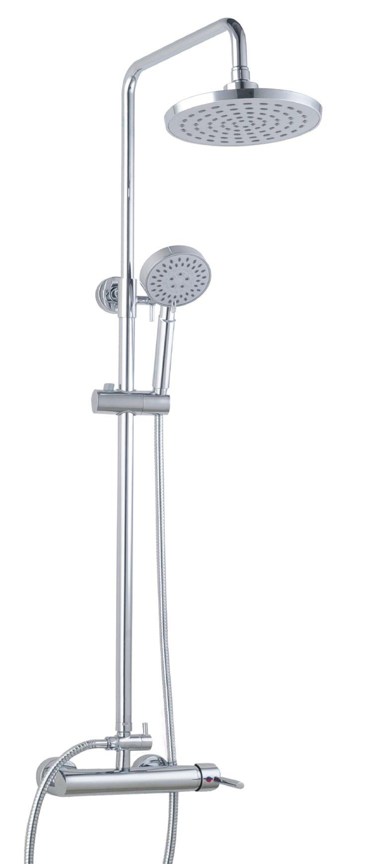 Aki bricolaje jardiner a y decoraci n combinado de ducha - Grifo de la ducha ...