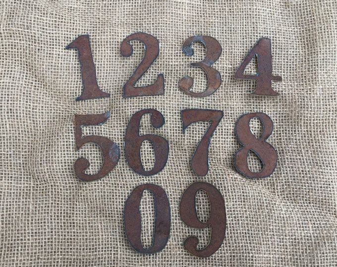 6 inch corrugated tin numbers numbers 0-9 tin numbers