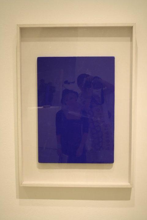 Yves Klain - Monochrome Blau - avec vous
