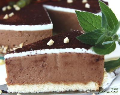 ciasto czekoladowo-miętowe